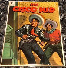 Cisco Kid #19 1954  DELL VF 8.5 High Grade