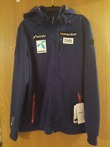 Phenix Jacket Men's Norwegian Ski Team World Cup Navy XXL (fits like XL) NWT!