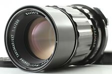 [ MINT+++ ] Asahi Pentax SMC Takumar 200mm f/4 Lens + Caps M42 From JAPAN #435