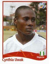 Panini FIFA World Cup 2011 Germany Women Sticker #77 Cynthia Uwak Nigeria