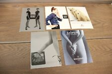 Lot of 5 Vintage Postcards Collectible Assortment - Sony TVCR, Gap - 1990's