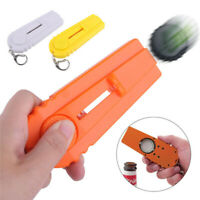 Cool Bottle Opener Keychain Funny Beer Soda Fun Keyring Key Chain Cap Launcher