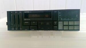 Alpine 7155 Car Stereo Cassette player 6 cube OLD SCHOOL CAR RADIO