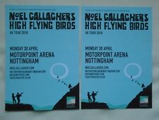 NOEL GALLAGHER & High Flying Birds Who Built the Moon 2018 Tour Promo flyers x 2