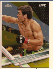 LYOTO MACHIDA 2017 TOPPS UFC CHROME GOLD REFRACTOR /50