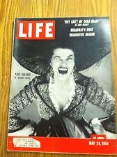 Vintage 1954 May 24 LIFE Magazine - Casey Tibbs - Ben Hogan - Brooklyn Bridge