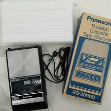 Panasonic Vintage Tape Recorder Audio Cassette Player RQ-309DS Tested Working