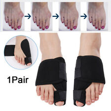 Pair Big Toe Bunion Foot Splint Straightener Corrector Hallux Valgus Pain Brace