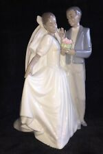 Lladro RETIRED NAO  Porcelain WEDDING  #1336 FOREVER LOVE, Excellent