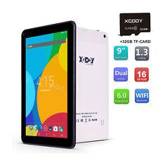 "Xgody 9"" Tablet PC Android 6.0 1+16GB WiFi Dual Camera Quad Core Bluetooth Cheap"