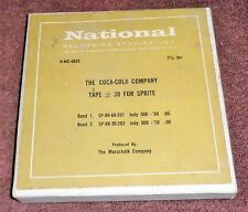 RARE ODDITY 1968 The Coca-Cola Company Advertisement Commericial On Reel Tape
