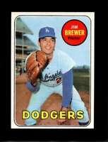 1969 TOPPS #241 JIM BREWER EXMT DODGERS  *XR18146