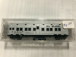 Micro-Trains 11600022 N D&RGW 50' Troop Sleeper Car #AX-2566 LN/Box
