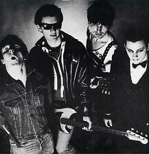"DAMNED ""NEW ROSE"" 12"" MAXI EP 1986 BLACK LABEL RARE"