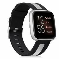 For Fitbit Versa 2 Smart Watch Band Breathable Woven Fabric Replacement Strap
