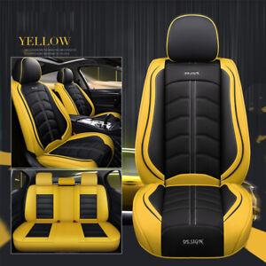Black Yellow Seat Covers For Toyota Camry Toyota Corolla Toyota Hilux RAV4 Prado