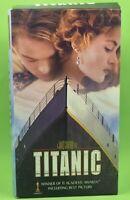 TITANIC VHS 1997 Kate Winslet Leonardo DiCaprio (2-tape set)