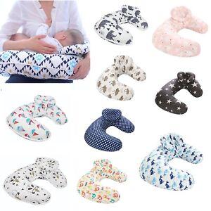 Newborn Baby U-Shape Maternity Breastfeeding Nursing Support Pillow Detachable