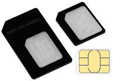 mumbi SIM Karten Adapter für iPhone SE 5 5S Nano auf Micro Sim und normale SIM