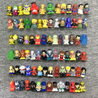 random 50Pcs Ooshies DC Comics Marvel TMNT GOLDEN Batman Flash Pencil topper Toy