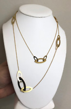 "Roberto Coin 18K Gold ""Chic & Shine"" Long Necklace"