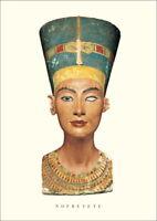 Thutmose Büste der Nofretete Plakat Poster Kunstdruck Bild 70x50cm