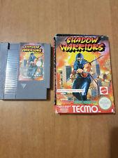Shadow Warriors Ninja Gaiden   MATTEL NINTENDO NES  ITALIANO PAL A ITA