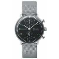 Junghans Men's Max Bill Chronoscope Automatic Watch - 027/4500.49.M NEW