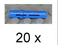 LEGO Technik - 20 x Technik - Pin lang blau / Blue Pin Long / 6558 NEUWARE