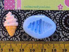 Moule Silicone Mini glace 6 - fimo, résine, plâtre, porcelaine froide