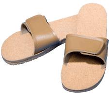 Maseur Gentle Massage Sandal - Beige: Men's Size 7