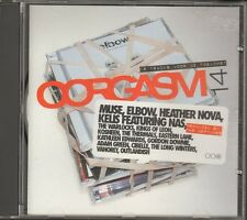 OORGASM 14 NEW CD 16 track MUSE Kings Of Leon ELBOW Heather Nova THERMALS Kelis