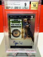 💎 2019-20 Contenders The Finals Ticket Zion Williamson /35 RC BGS 9/10 Auto 💎