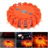 16 LED Auto rundes magnetisches Blinklicht Strobe-Warnlichter Rundumkennleuchte