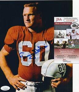 Tommy Nobis - NFL Rookie of the Year - Autographed 8x10 w JSA COA