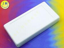 Kunststoff Gehäuse Grau - 4 Beinchen 129x67.5x20mm Plastic Enclosure #A1714