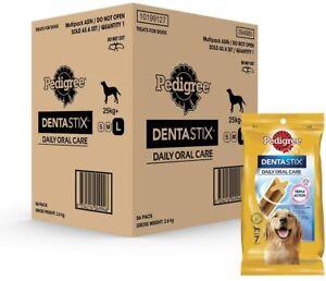 PEDIGREE Dentastix Large Dog Dental Treats 56 Pack, 56 Count   NEW AU