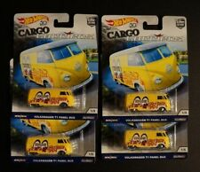 Hot Wheels 50th Cargo Carriers Volkswagen T1 Panel Bus Real Riders Car Culture