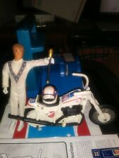 Evel Knievel Stunt Cycle, Figure,launcher