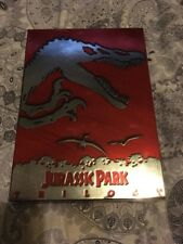 JURASSIC PARK TRILOGY COLLECTOR'S EDITION 4 DVD SET! OOP REGION 1