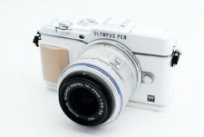 Olympus Om-D E-P5 16.1MP 14-42mm Lente Set Blanco [ EXC Con / Caja,8GB SD Card [