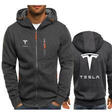 Promoção! Nova Tesla Jaqueta Com Capuz Masculino Cosplay Completo Moletons Casaco Outono