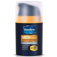 VASELINE MEN FACE ANTI SPOT WHITENING SPF30 PA+++ TOTAL FAIRNESS SERUM 50g