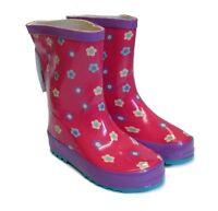 NEW KIDS GIRLS CHILDREN WELLIES RAIN WELLINGTON WATERPROOF SNOW BOOTS SHOES SIZE