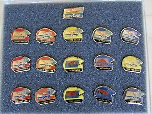 Indy Car CART Racing 1989-1993 Gold Collection Pins SRE. Five complete Sets.