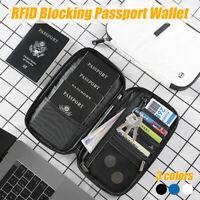 RFID Blocking Wallet Passport Card Money Holder ID Phone Holder Wallet