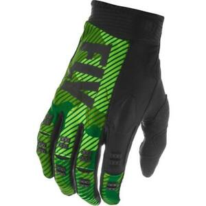 Motorcross MX Gloves > Fly Racing Evolution 2020 Lightweight - Black / Green