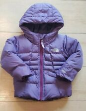 Baby Girl Toddler North Face  2T purple Jacket 550 warmth goose down filling