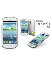 3G SAMSUNG GALAXY S3 MINI SIM FREE MOBILEPHONE ANDROID SMARTPHONE CERAMIC WHITE