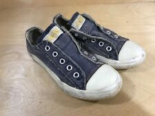 Converse All Star Slip On Sneakers Shoes No Laces size 12